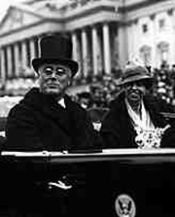 President and Mrs. Roosevelt on Inauguration D...
