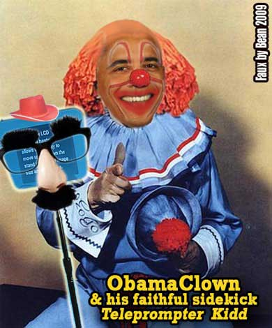 kate circus clowns THE OBAMA S ARE CLOWNS