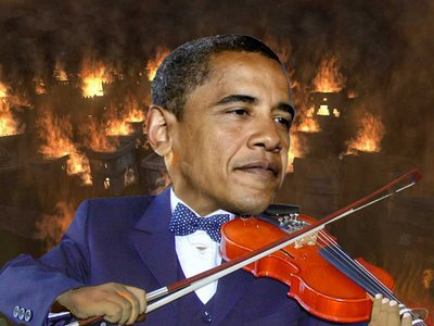 Obama-Fiddles-Rome-Burning