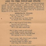 Ode To The Welfare State