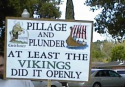 government pillage