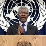 Kofi Annan — Please Go Away